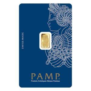 1 gram gold pamp