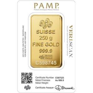 250 gram pamp suisse 2